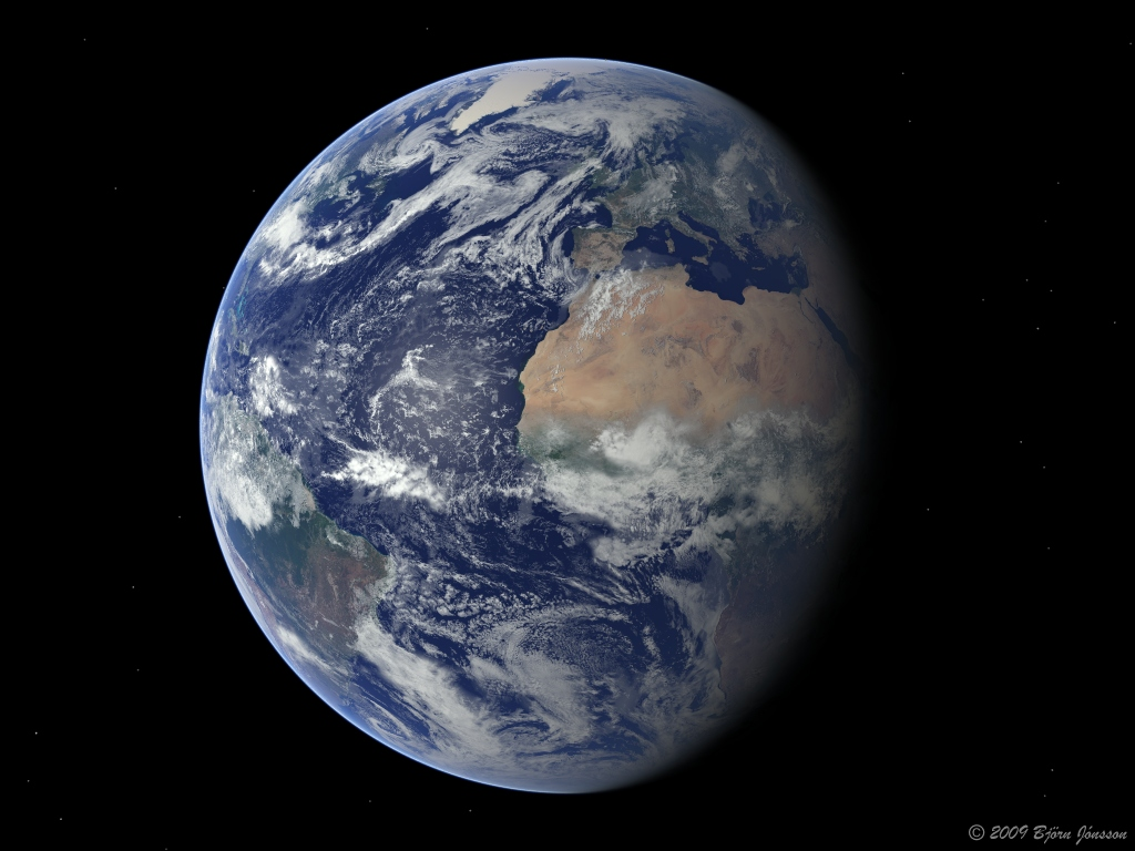 earth and moon together - photo #48