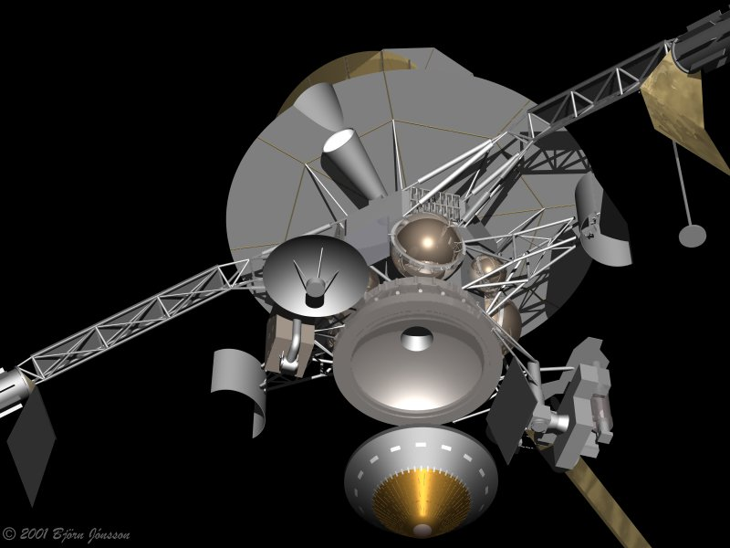 POV-Ray models of spacecraft