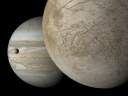 Europa, Jupiter and Io