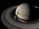 Voyager 2 at Saturn